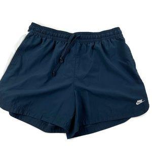 Nike Boys Athletic Shorts, Blue White XL 16-18
